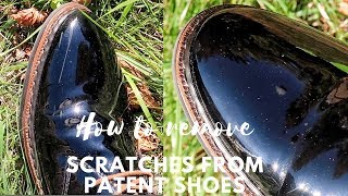 How To Remove Scratches from Patent Leather Shoes EASY LIFE HACK