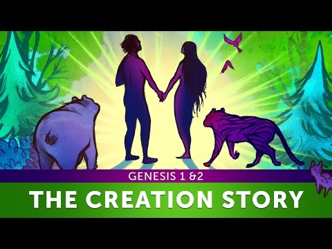 Sunday School Lesson for Kids: Genesis 1 & 2 The Creation Story | Sharefaith Kids