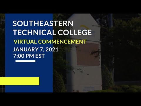 Southeastern Technical College 2020 Commencement Ceremony