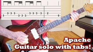 Apache! [Guitar solo with tabs]