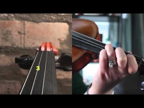 """Violin Tutorial: How to Play """"The Duck Song"""" (Abridged Lyrical Melody)"""