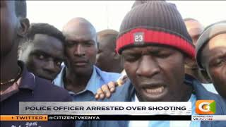 Police officer arrested over Kolongolo shooting