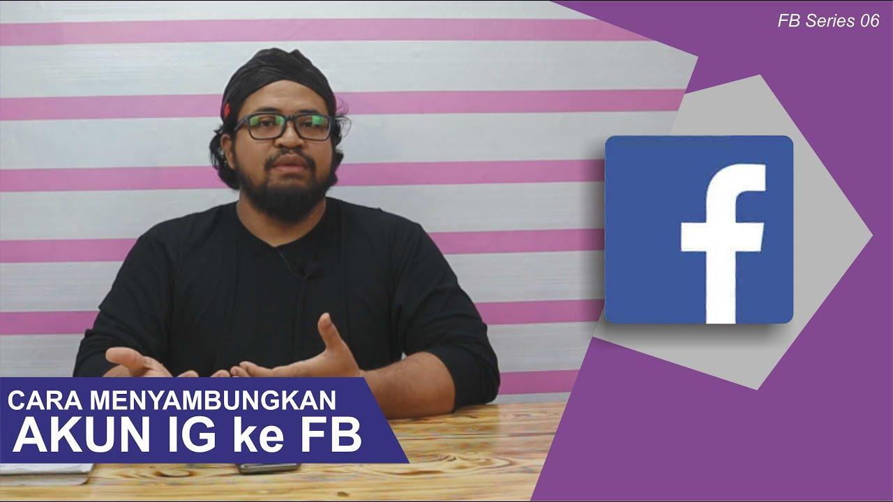 Cara Mudah Menghubungkan IG ke FB