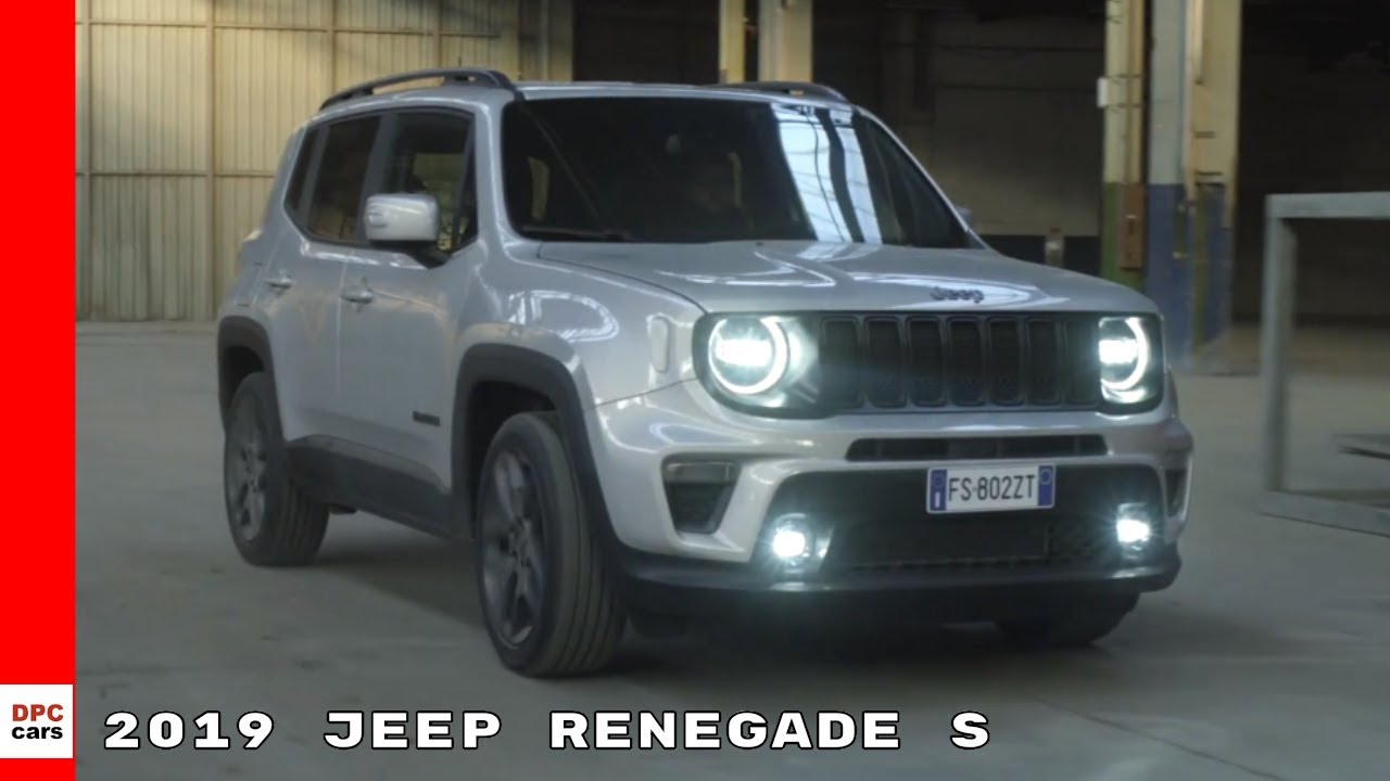2019 Jeep Renegade S Youtube