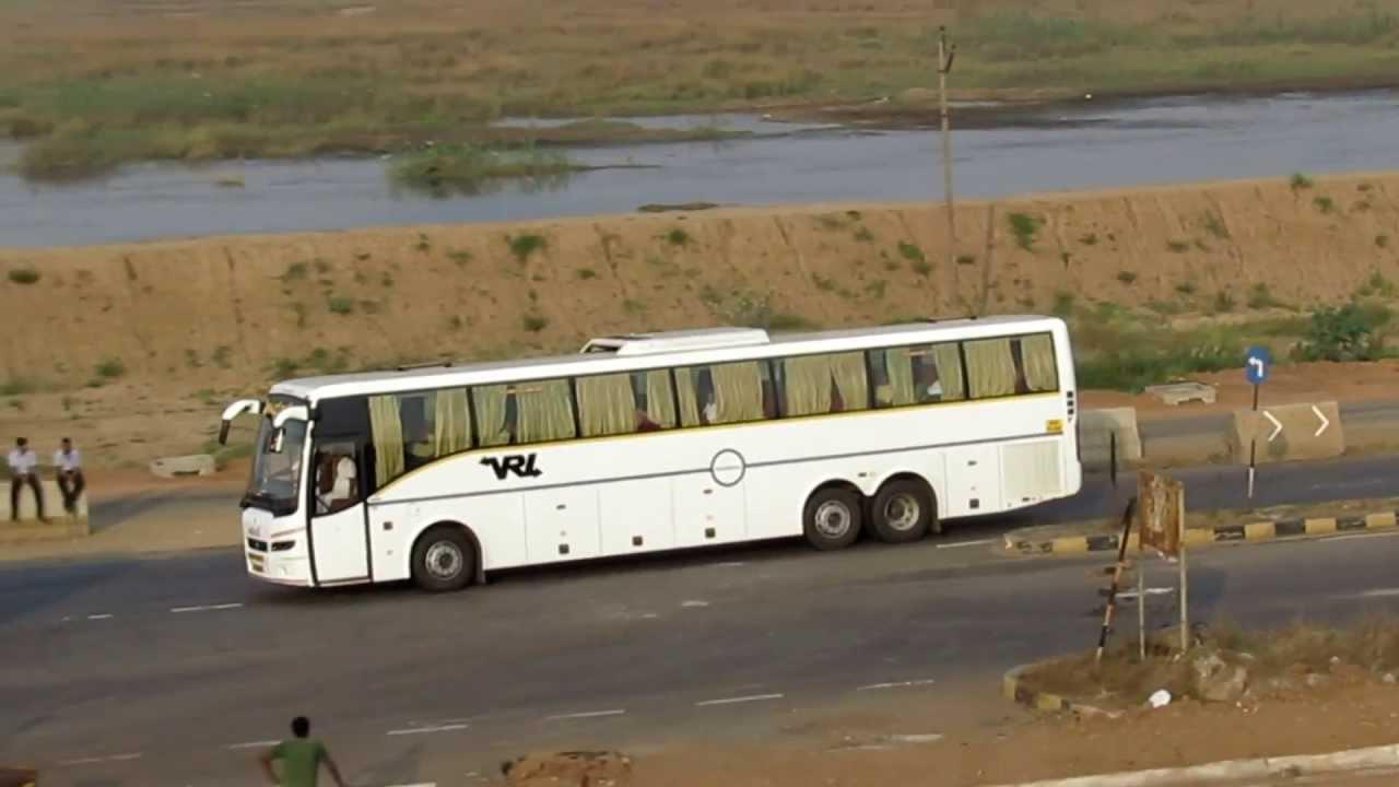 Volvo 40 1 Interior >> VRL multi axle Volvo bus - YouTube