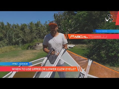PRO ADVICE | Clew eyelets when to use upper or lower | Pascal Toselli