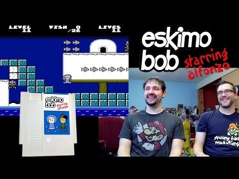 New NES Game: Eskimo Bob