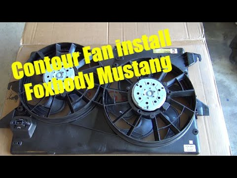 Electric Fan Conversion With Automatic Switch Foxbody Doovi