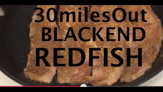 30milesout.com - Cajun Blackened Redfish - In The Kitchen With Ty & Theresa