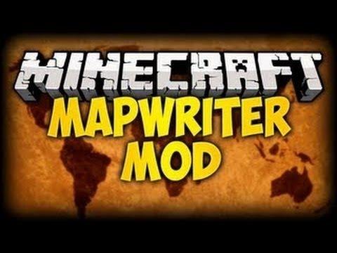 скачать моды на майнкрафт 1.7.10 mapwriter #11