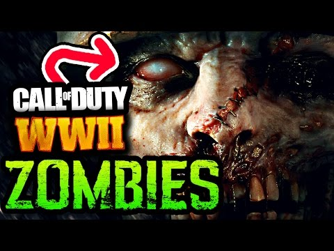 NEW OFFICIAL COD: WW2 ZOMBIES TEASER & NEW STORY DETAILS!! (Call of Duty WW2 Zombies Breakdown)