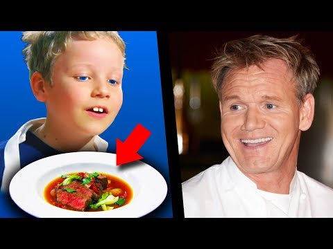 10 Times Gordon Ramsay Actually LIKED THE FOOD! (Part 2)