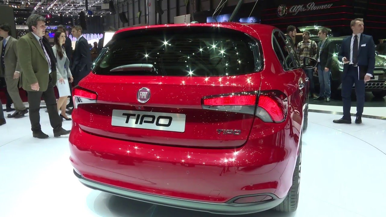 fiat tipo berline 5 portes at geneva motor show 2016 automototv youtube. Black Bedroom Furniture Sets. Home Design Ideas