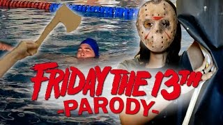 Friday The 13th (Sexta-Feira 13) 1980 Trailer - Paródia/Parody