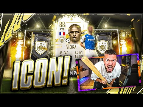 FIFA 21: OMG ICON VIEIRA im PACK 🔥🔥 Mein BESTES Pack Opening Best Of Stream!