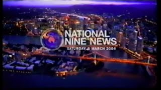 Repeat youtube video QTQ9 National Nine News March 6, 2004