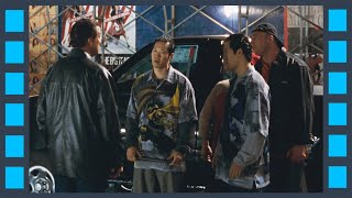 Драка. Один против пятерых — «Сквозные ранения» (2001) сцена 1/7 HD