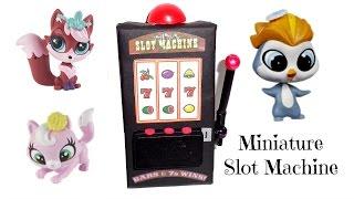 Miniature Slot Machine - Diy Lps Crafts, Doll Stuff & Dollhouse Accessories