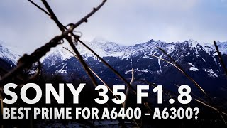 Sony 35 f1.8…