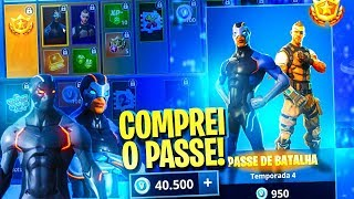 I SPENT 40000 VBUCKS et BOUGHT EVERY BATTLE PASS de la bataille FORTNITE ROYALE
