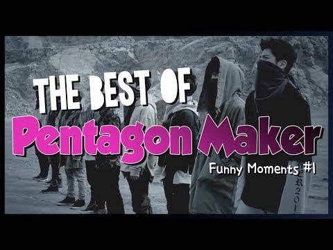 PENTAGON: The Best of Pentagon Maker | Funny moments