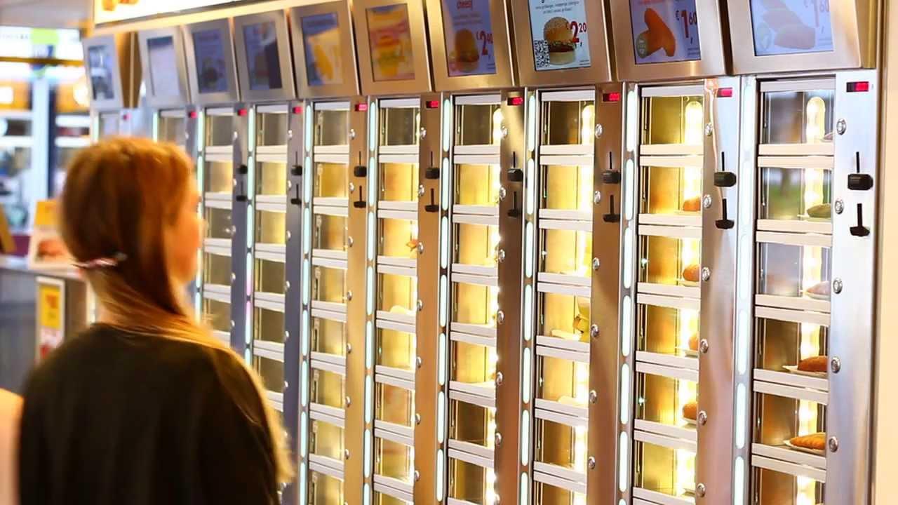 u00e8M! Payment   bij FEBO een snack uit de muur met je mobiel    YouTube