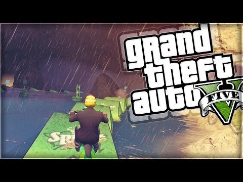 Thumbnail: GTA 5 Funny Moments | Moistest Waves Ever & Loop the Loop! (GTA V Online)