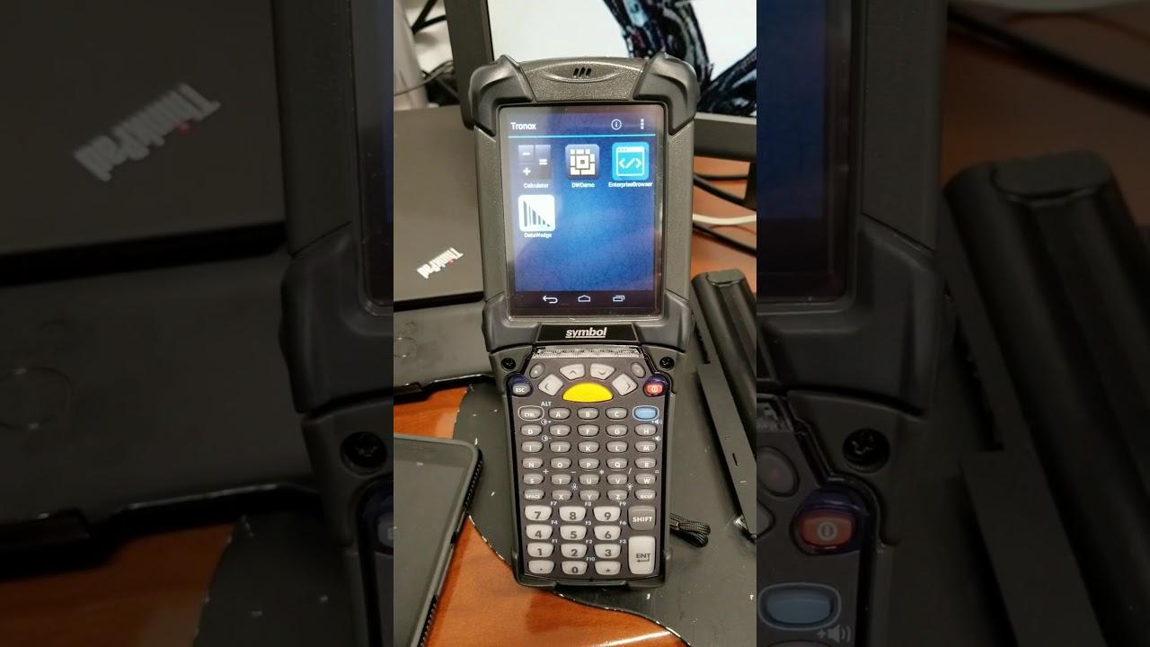 Zebra symbol mc92 barcode scanner stagenow demonstration zebra symbol mc92 barcode scanner stagenow demonstration enterprise browser enterprise home screen buycottarizona