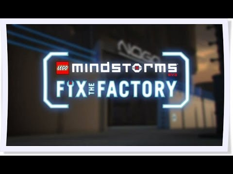 Lego Mindstorms Fix The Factory - YouTube