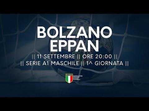 Serie A1M [1^]: Bolzano - Eppan 28-20