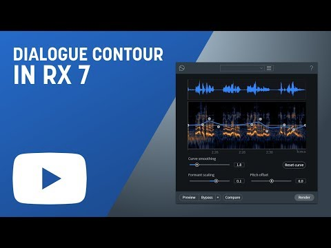 How to Use Dialogue Contour in RX 7 Advanced