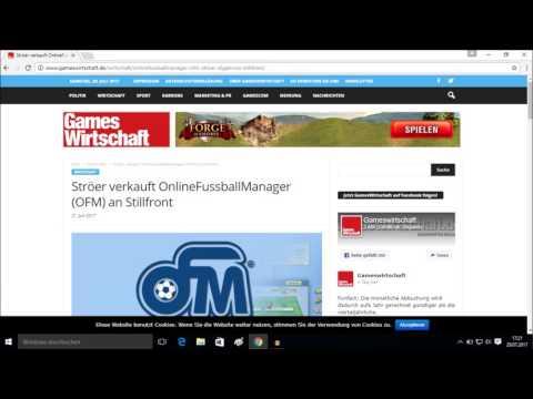 Breaking News - OFM-GmbH Verkauft, neuer Mehrheitseigner