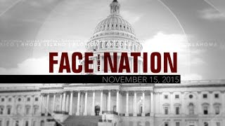Open: This is Face the Nation, November 15