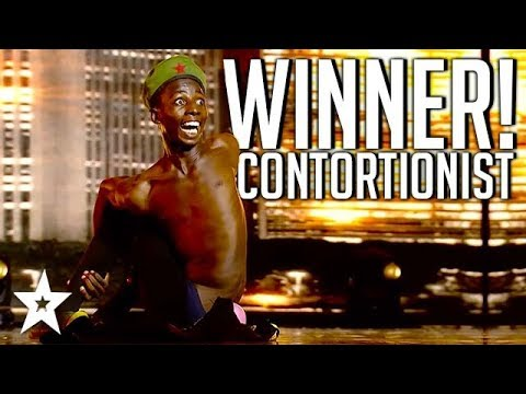 CRAZY CONTORTIONIST Wins Africa's Got Talent 2017 | All Perf