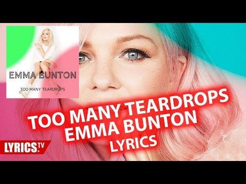 Too many teardrops LYRICS | Emma Bunton | lyric & songtext | from the album My Happy Place Mp3
