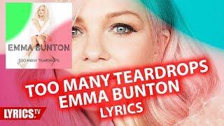 Baixar Too many teardrops LYRICS | Emma Bunton | lyric & songtext | from the album My Happy Place