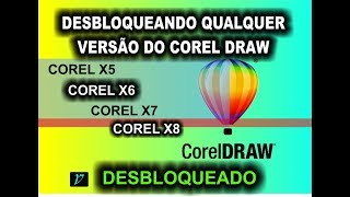 Desbloqueando Qualquer Versão do Corel Draw