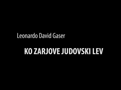 Glej, Luč 2017: Leonardo David Gaser - Ko zarjove judovski lev