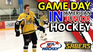 GAME DAY in American Junior Hockey