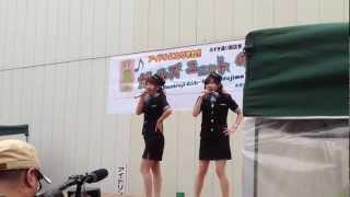 ドロイ子(瑞木るう)のオープニングステージ〜ガールズユニットのどじまん.