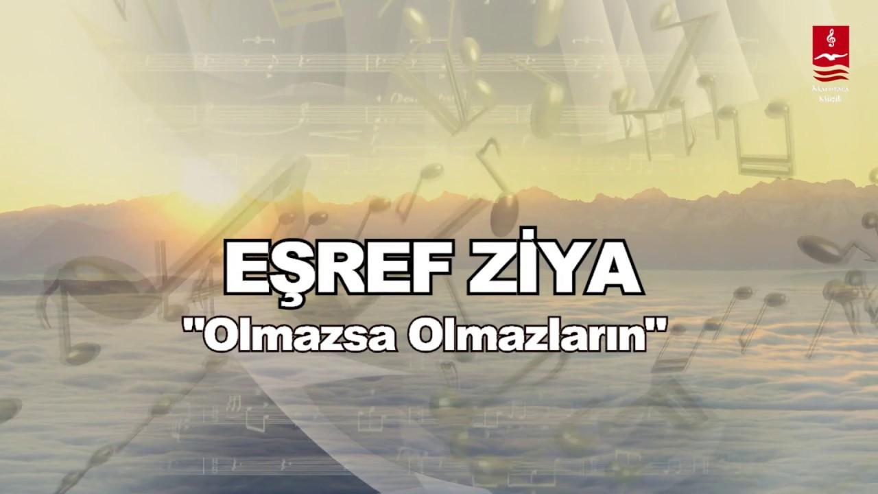 """EŞREF ZİYA  """"OLMAZSA OLMAZLARIN"""""""