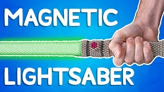 We Made a Lightsaber out of 5,000 Magnets