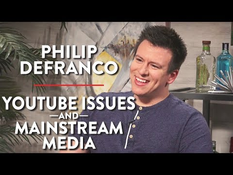 Philip DeFranco on YouTube Issues and Mainstream Media (Pt.
