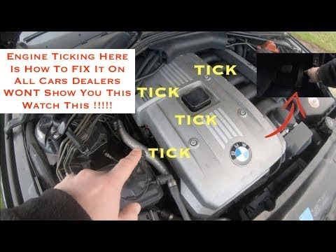 Engine Ticking Free Fix Must Watch For ALL Car Owners NO LIQUIDS USED Hydraulic Lifter Tick