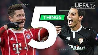 LEWANDOWSKI, BANEGA, JAMES: 5 Things You May Not Know About Bayern v Sevilla