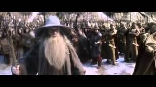 Hobbit 3 -Beş Ordular Savaşı   Cücelerin Gelme Sahnesi-Türkçe Dublaj