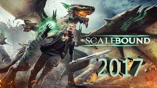Scalebound -  геймплей игры. Е3 2016 .  /  Дата выхода 2017 год .