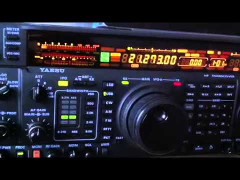 7X4AN Algeria Amateur Station Yaesu FT-1000MP