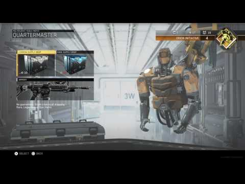 Call of Duty Infinite Warfare Beta 60 Crypto Key Opening