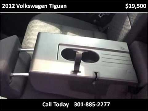2012 Volkswagen Tiguan Used Cars White Plains MD